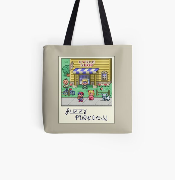 Fuzzy Pickles All Over Print Tote Bag
