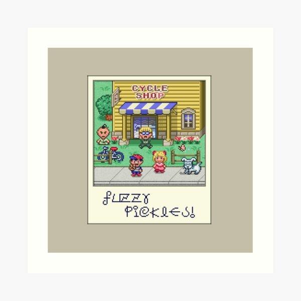 Fuzzy Pickles Art Print