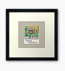 Fuzzy Pickles Framed Print