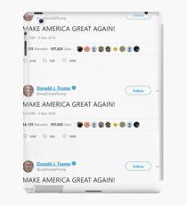 Donald J. Trump - MAKE AMERICA GREAT AGAIN! iPad Case/Skin