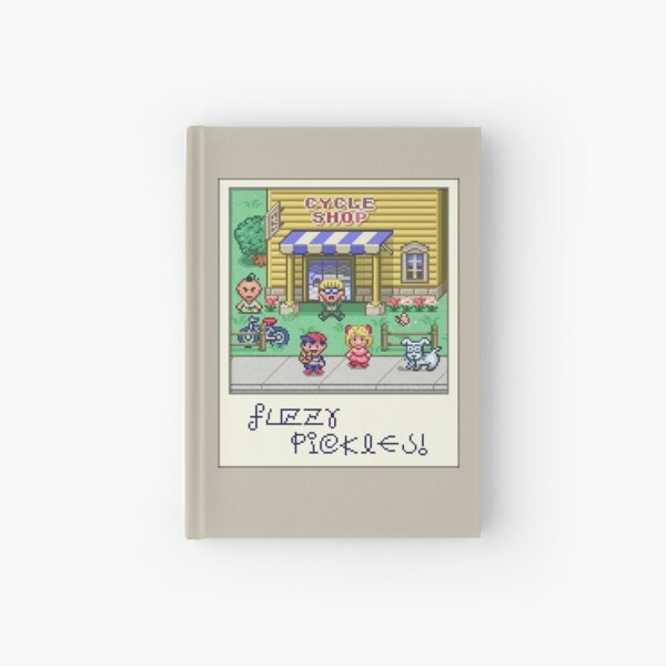 Fuzzy Pickles Hardcover Journal