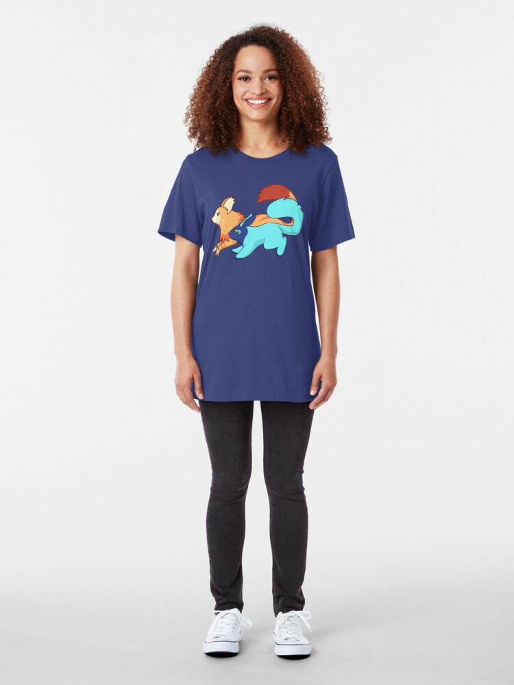Alternate view of Quickie and Zapie Slim Fit T-Shirt