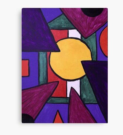 Geometric Perception Canvas Print