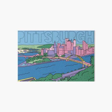 Pittsburgh! Art Board Print