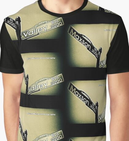 Maxson & Valley1 El Monte CA by Mistah Wilson Photography Graphic T-Shirt