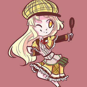 Detective Kokoro by colorfulnitemar