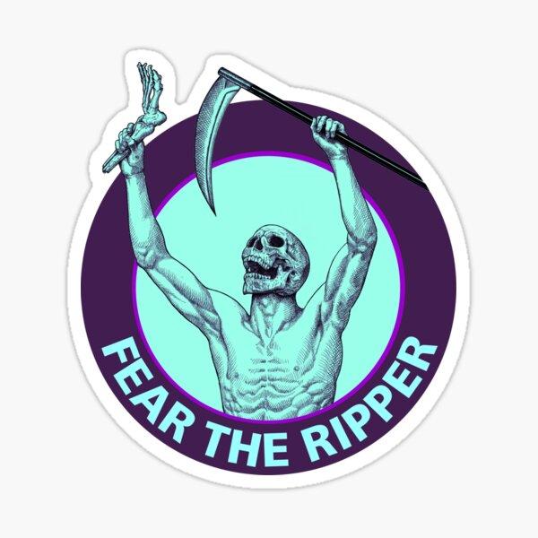 Fear the ripper, heel hook, foot lock Sticker