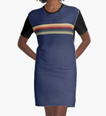 The Blue T-Shirt of Doctor Whittaker Graphic T-Shirt Dress