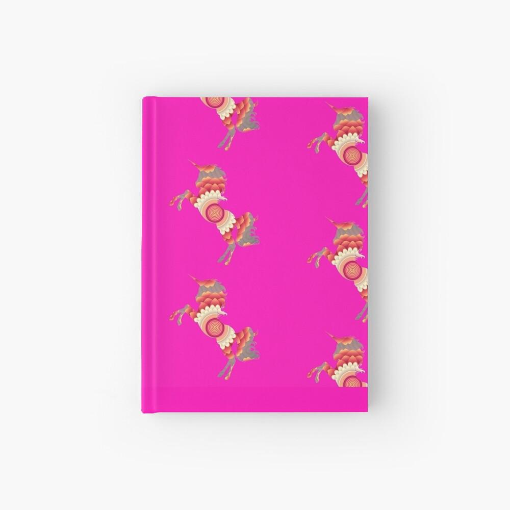 Spiral Einhorn Notizbuch