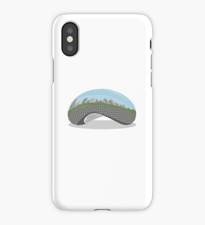 Cloud Gate (The Bean) iPhone Case