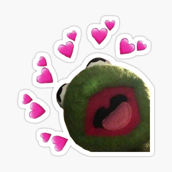 kermit big love  Sticker