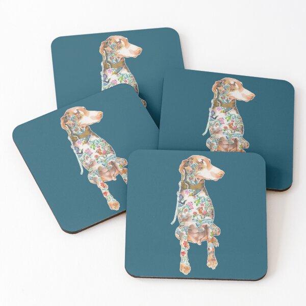 Kingsley Gets Inky Coasters (Set of 4)