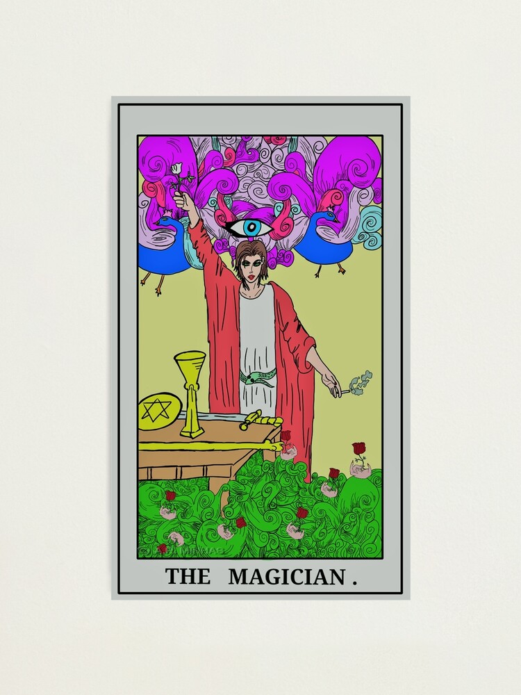 Alternate view of 'The Magician' (c) A.R. Minhas 2018  Photographic Print