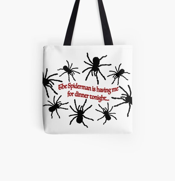 The Cure Logo Black Tote//Shopper Bag