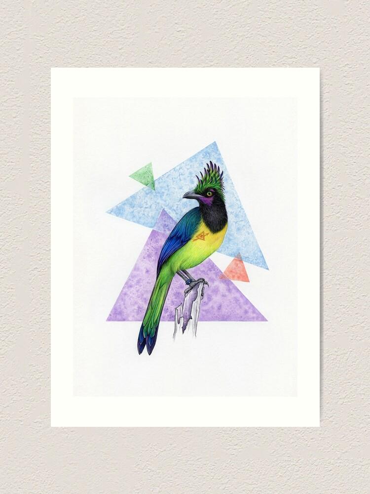 Alternate view of Alternative Jay Art Print