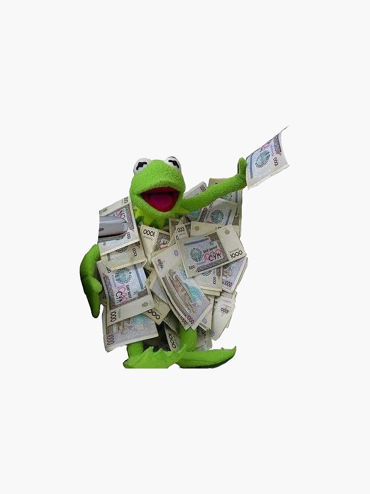 kermit cash by pinkkoiboy