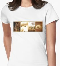 Nature's Window Womens Fitted T-Shirt