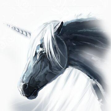 Lost Unicorn by chaoslavawolf
