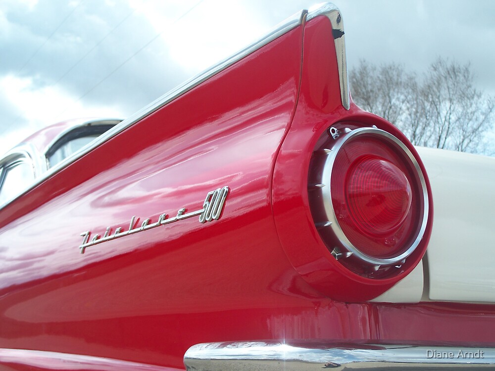 Georges Restored 57 Ford Fairlane 500 by Diane Arndt