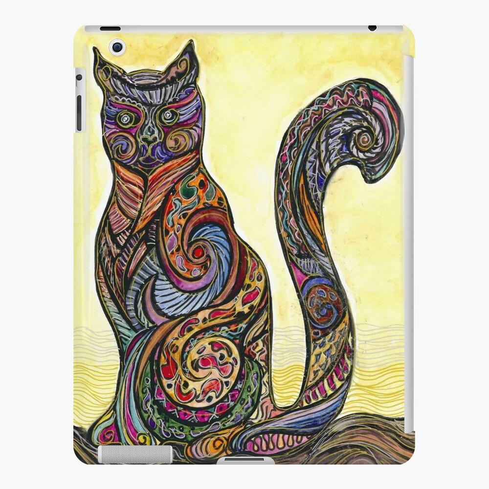 Cat of Many Colors Funda y vinilo para iPad
