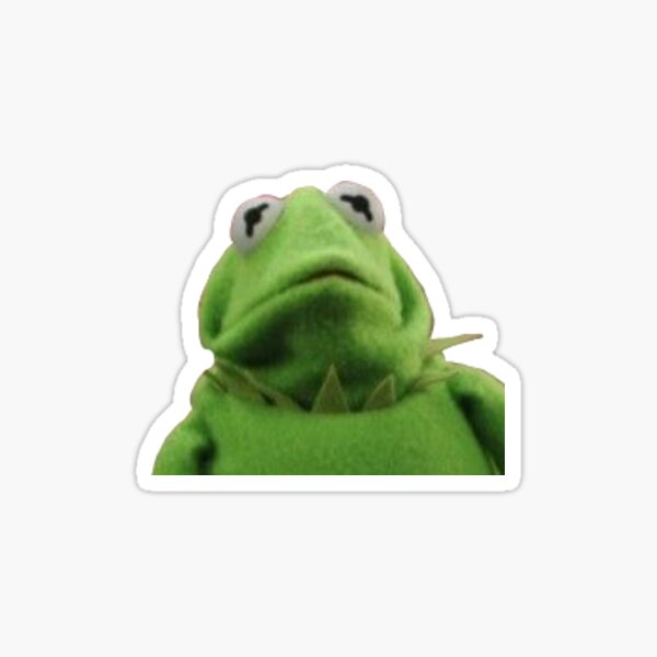 kermit :< Sticker