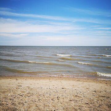 a little beach by mistressotdark