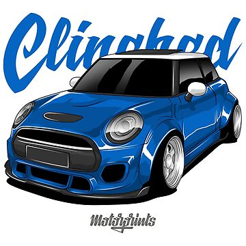 Clinched Cooper (blue) by MotorPrints