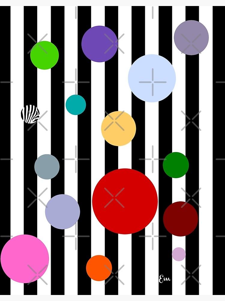 Geometrics- Stripes and Polka Dots by Matlgirl