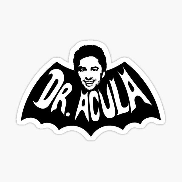 Dr. Acula Sticker