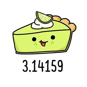 Math Pi Pie by StickersAndStuff