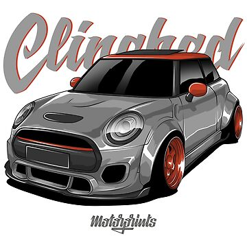 Clinched Cooper (gray) by MotorPrints