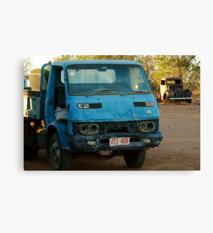 Take the good truck, it's registered. Canvas Print