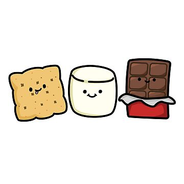 Cute S'more Pals by StickersAndStuff
