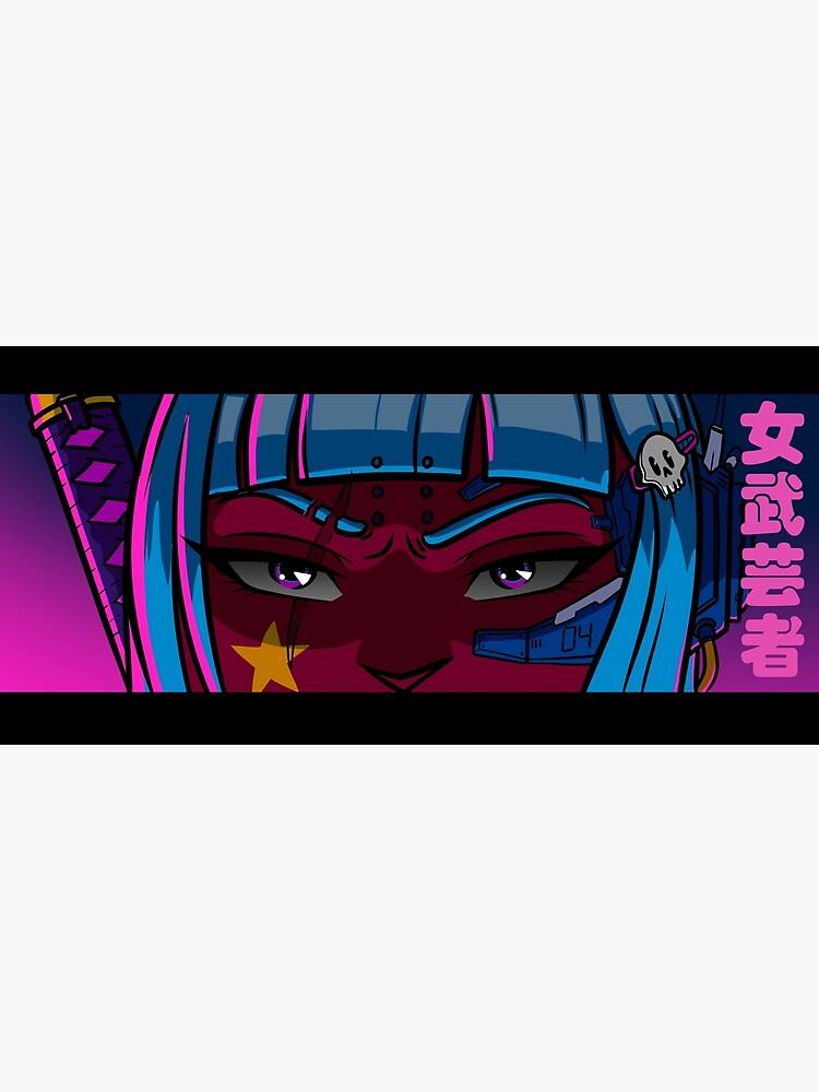 Cyberpunk Onna-Bugeisha von Jeremylord
