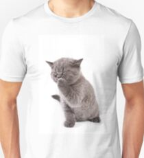 Funny gray kitten T-Shirt