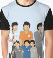 The Hopeless, Rose-Colored, and Original Subjects and Scientists Graphic T-Shirt