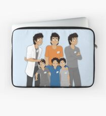 The Hopeless, Rose-Colored, and Original Subjects and Scientists Laptop Sleeve