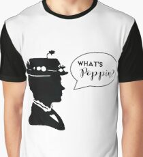 What's Poppin? (in white) Graphic T-Shirt