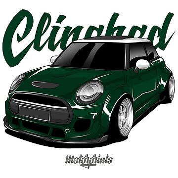 Clinched Cooper (green) by MotorPrints