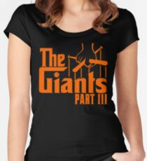 The GIANTS Women's Fitted Scoop T-Shirt