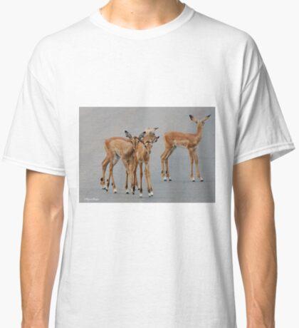 BABY BLACK-FACED IMPALA _Aepyceros melampus petersi - Swartneus rooibok Classic T-Shirt
