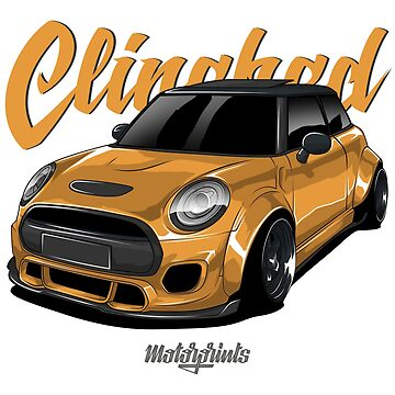 Clinched Cooper (yellow) by MotorPrints