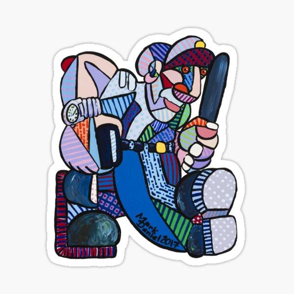 Johnny Law Sticker