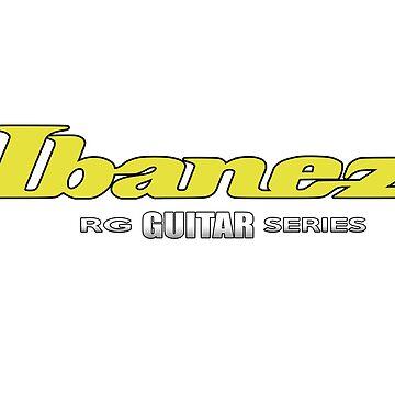 """Ibanez Guitar RG Series Yellow """"Edition"""" by mugenjyaj"""