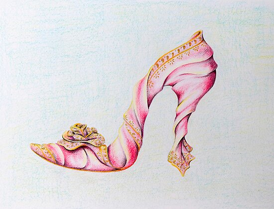 Silk Slipper by Sally King