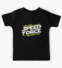 May The Speed Force Be With You Kids T-Shirt