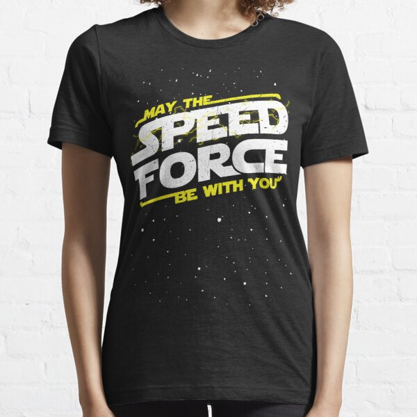 May The Speed Force Be With You Essential T-Shirt