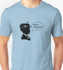 What's Poppin? (in blue) Unisex T-Shirt
