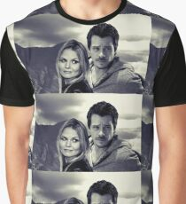 Swanfire in the Mountains  Graphic T-Shirt
