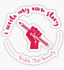 Hochschule und Universität | Meine Geschichte | P2 | Wichita State Universität Sticker